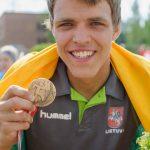 Algirdas JWOC 3 vieta medalis