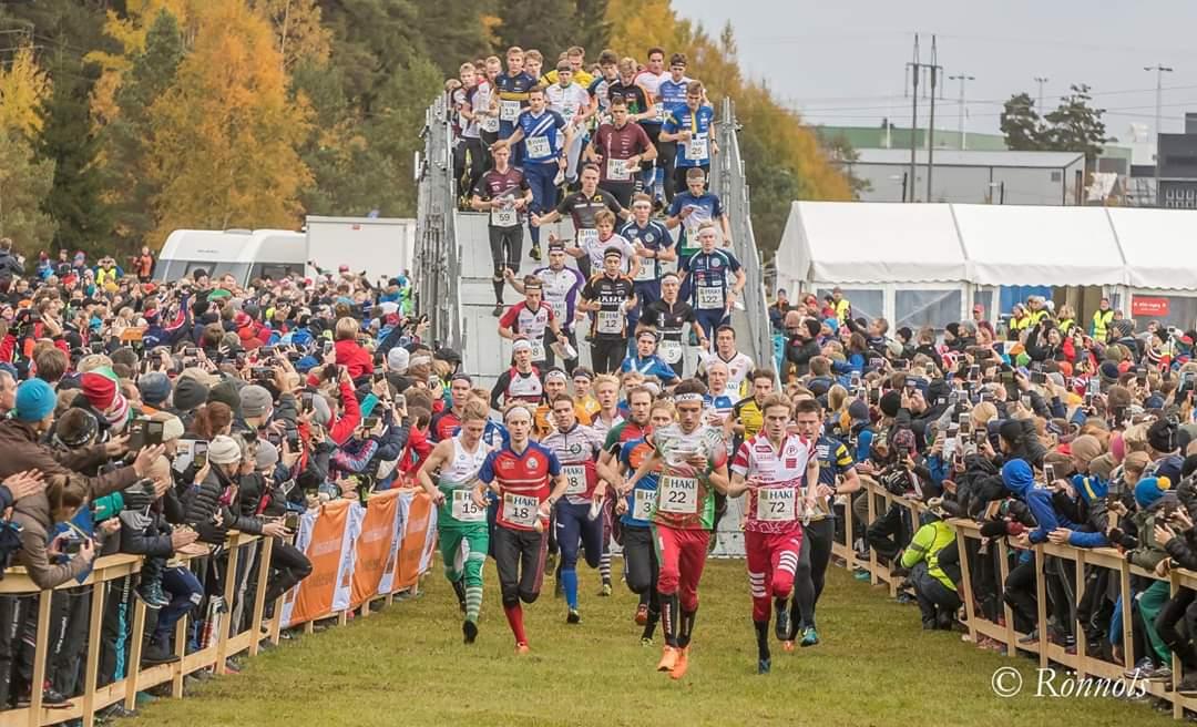 """Švedijos orientavimosi sporto klubų estafetėse """"25 Manna"""""""