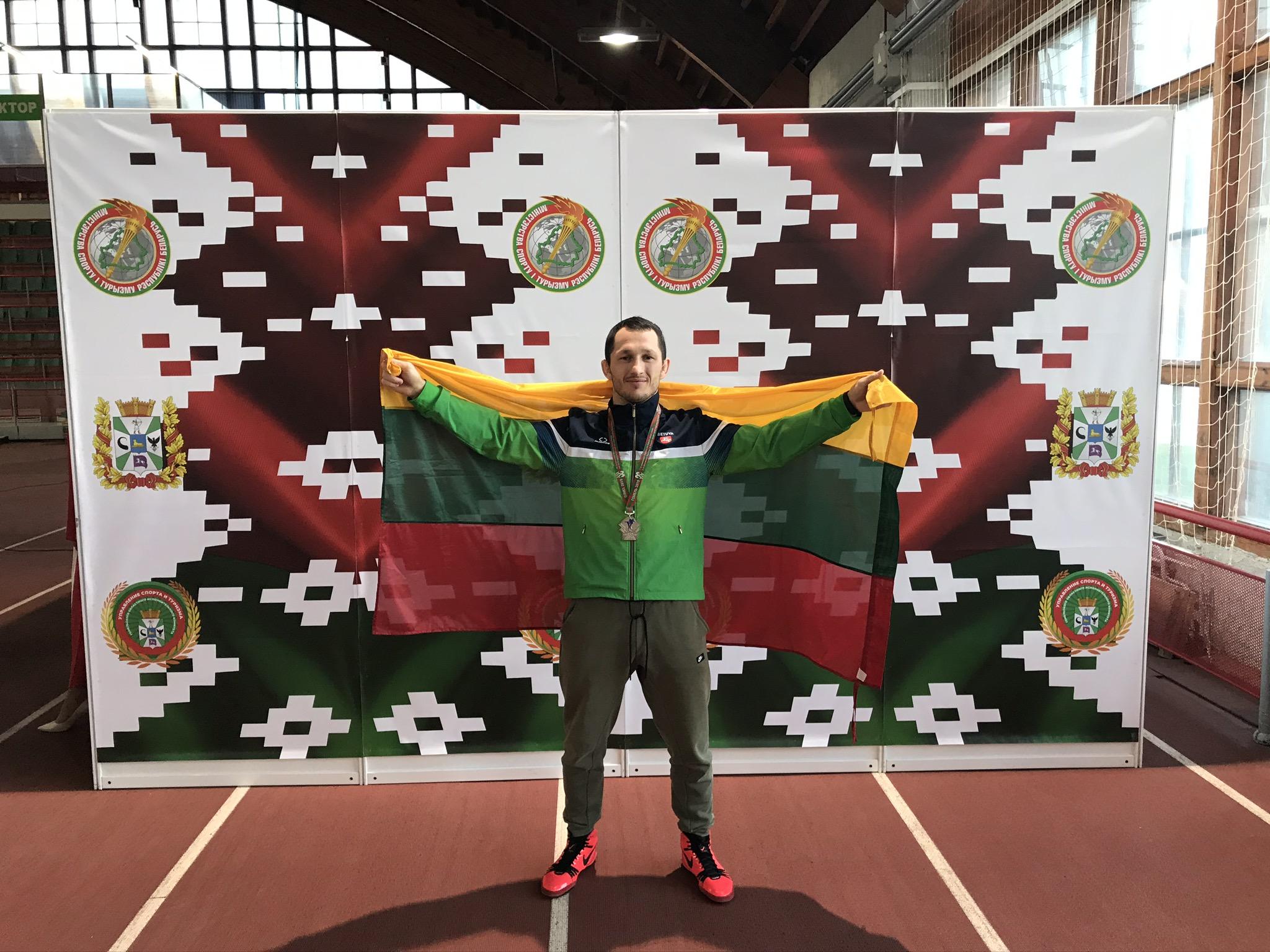Mantas Kazimieras Sinkevičius -  Europos kurčiųjų imtynių čempionato vicečempionas