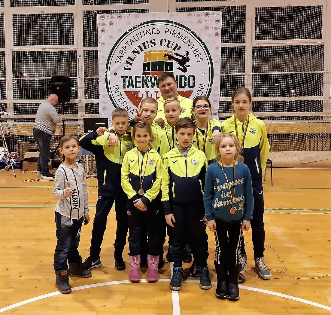 """Gaja"" tekvondo komanda. ""Vilniaus Taurė 2020"""
